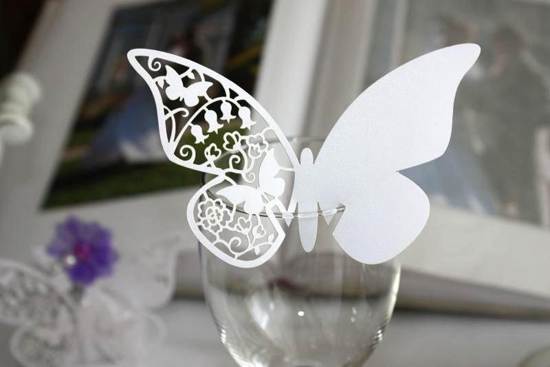 Motylki na kieliszki